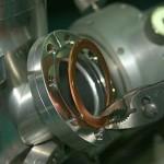 tilt pliers back to remove copper gasket on CF flange